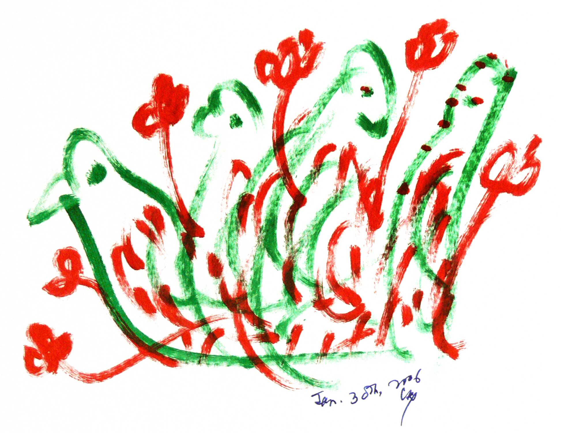 _Bird-Drawing-30-1-2006-7-by-Sri-Chinmoy