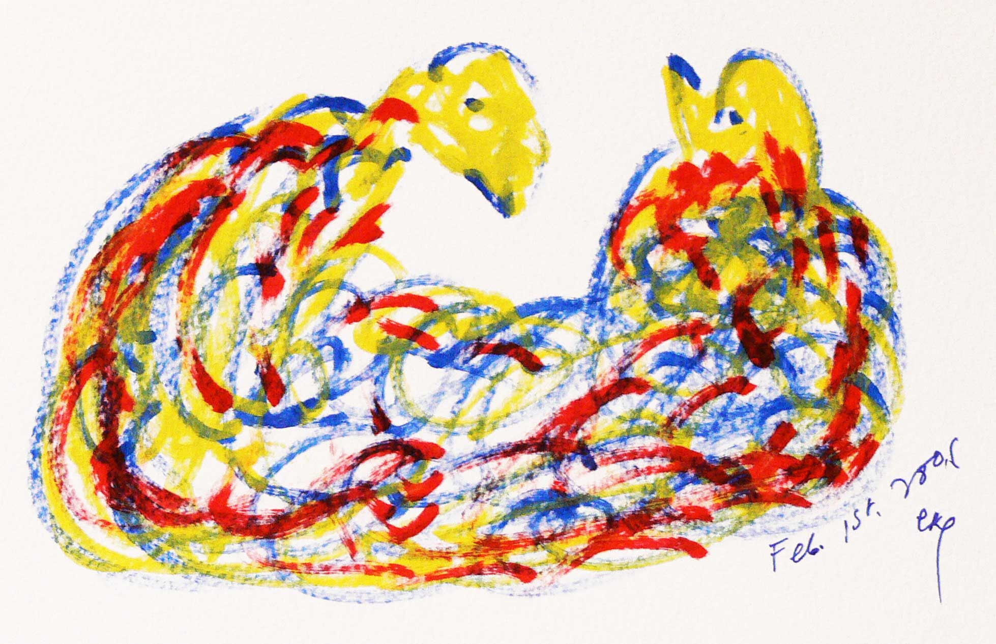 Bird-Drawing-by-Sri-Chinmoy-1-2-2006-5