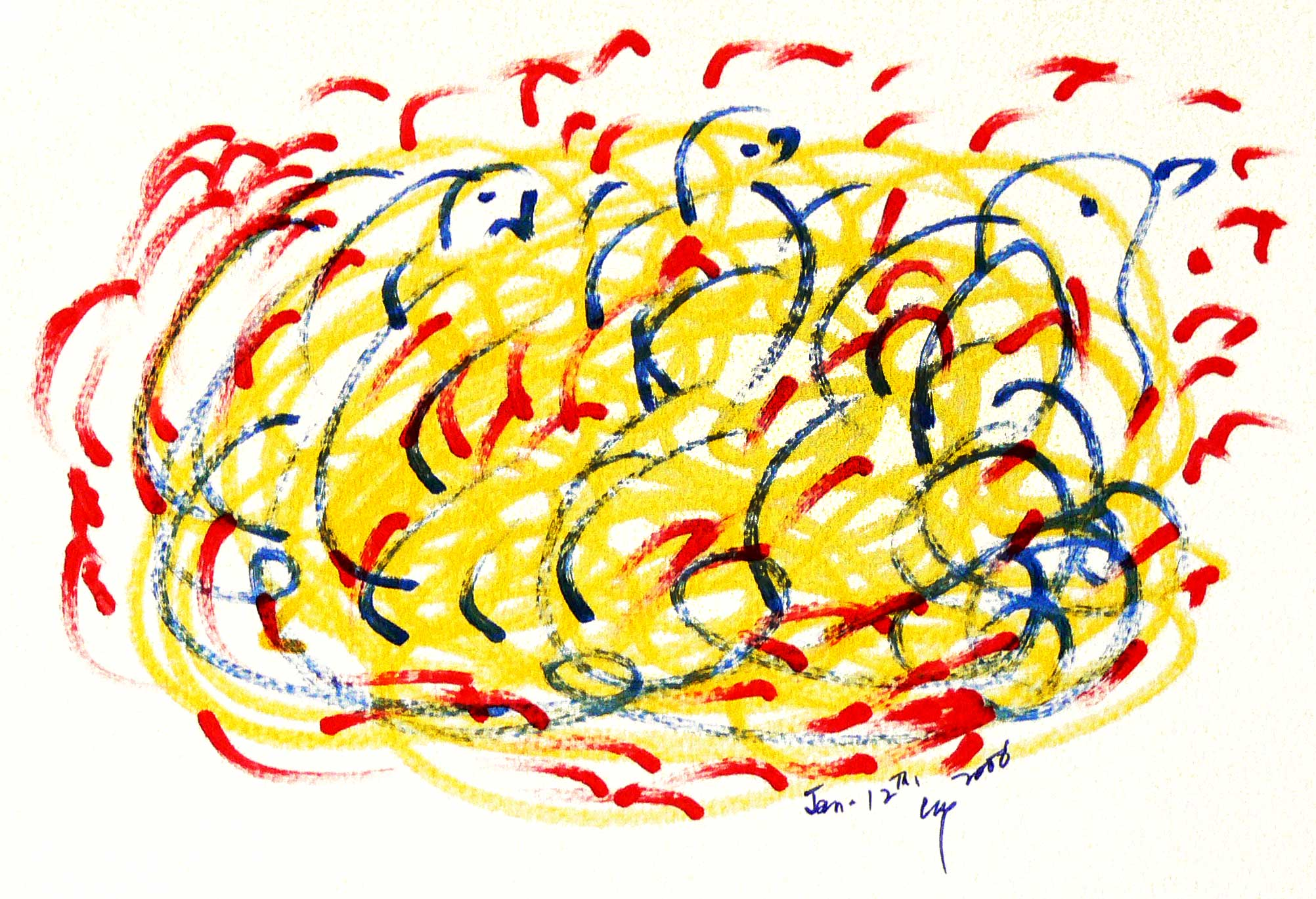Bird-Drawing-by-Sri-Chinmoy-12-1-2006-2