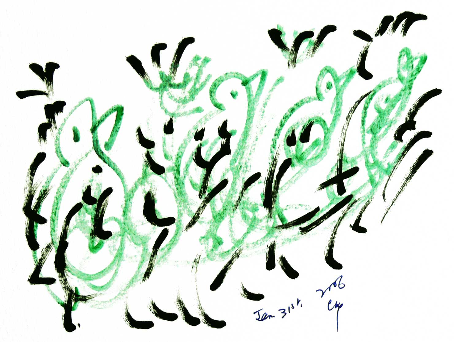 Bird-Drawing-by-Sri-Chinmoy-31-1-2006-4