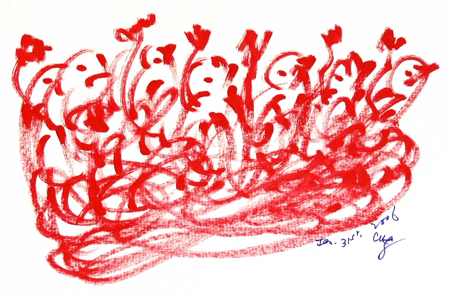Bird-Drawing-by-Sri-Chinmoy-31-1-2006-5