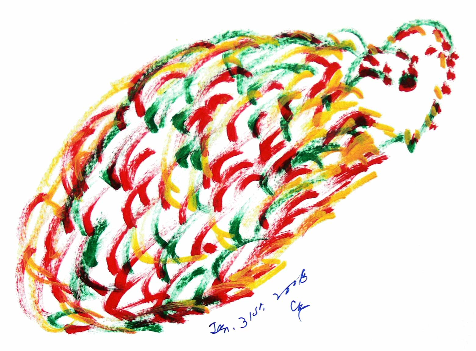 Bird-Drawing-by-Sri-Chinmoy-31-1-2006-7
