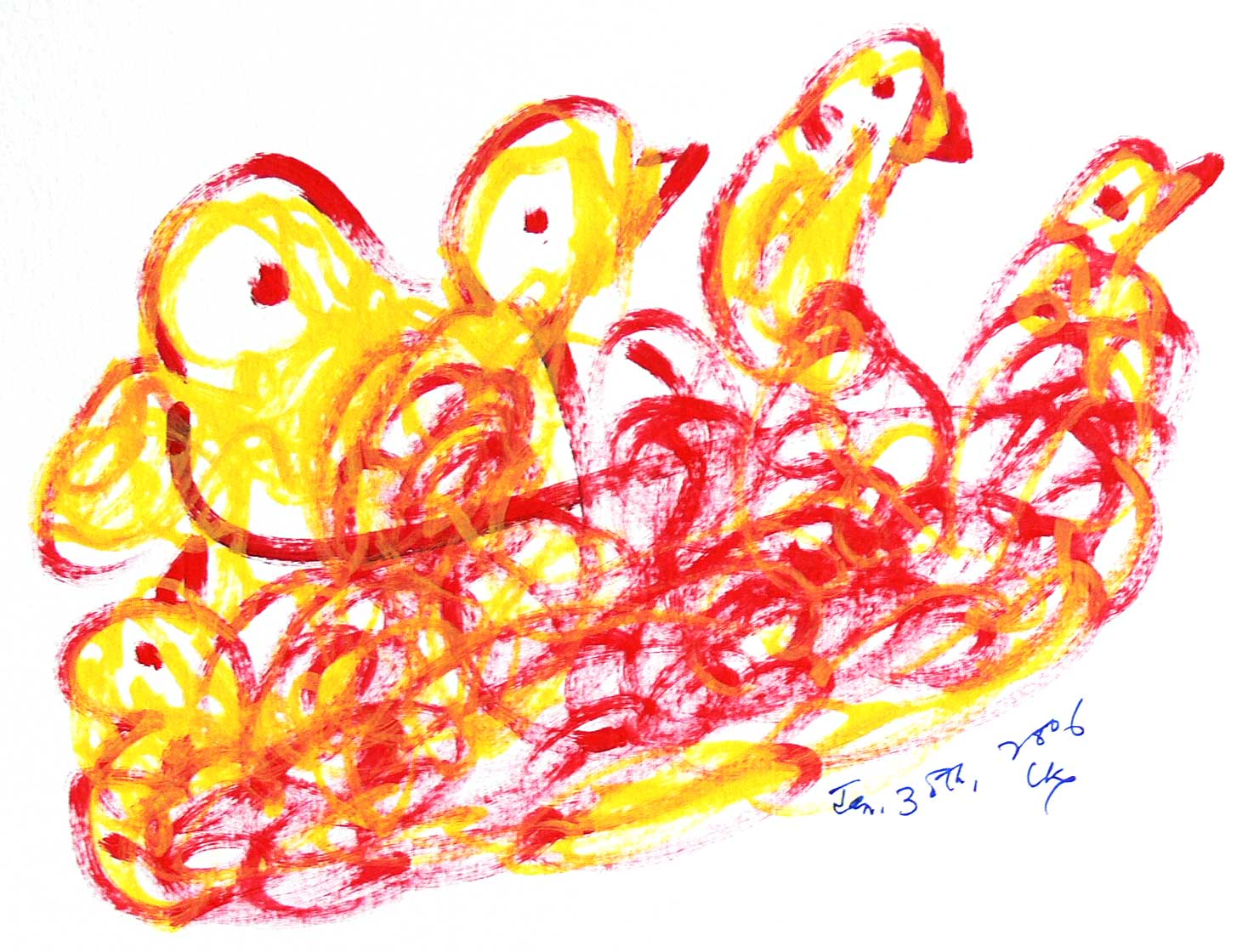 Bird-Drawing-30-1-2006-23-by-Sri-Chinmoy