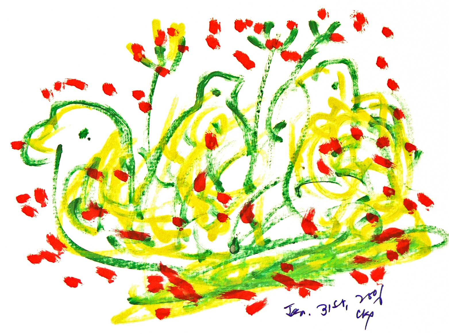 Bird-Drawing-by-Sri-Chinmoy-31-1-2006-12