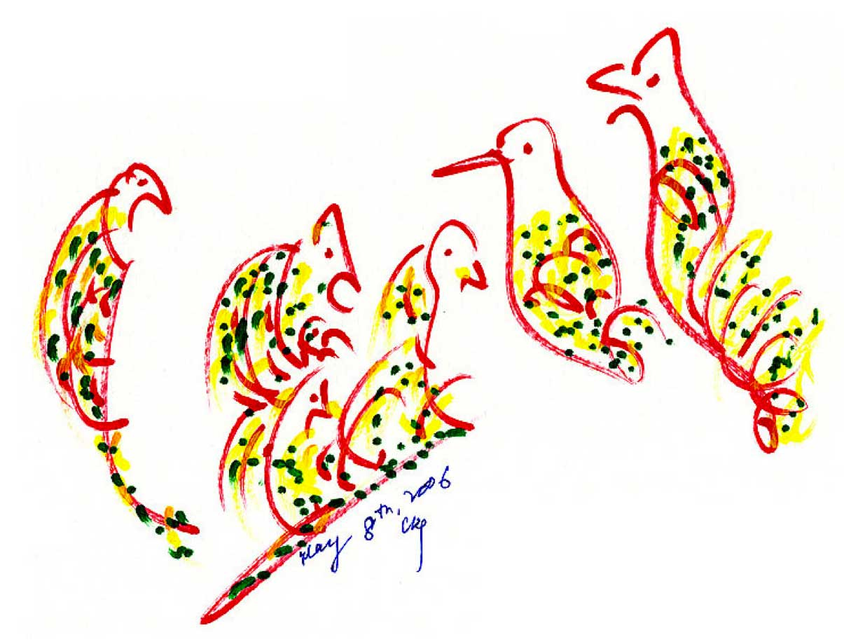 Bird-Drawing-by-Sri-Chinmoy-8-5-2006-3