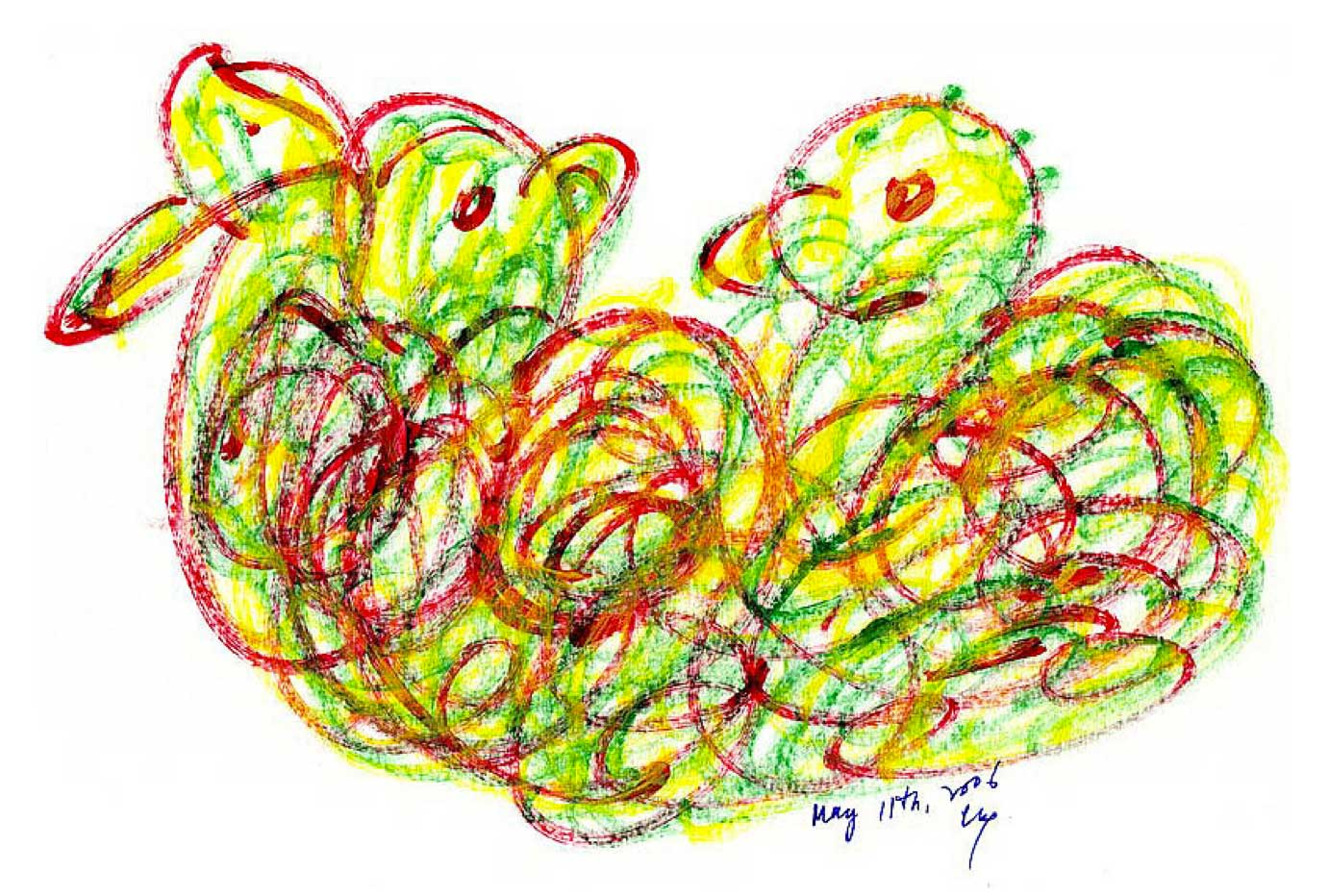 Bird-Drawing-by-Sri-Chinmoy-11-5-2006-7