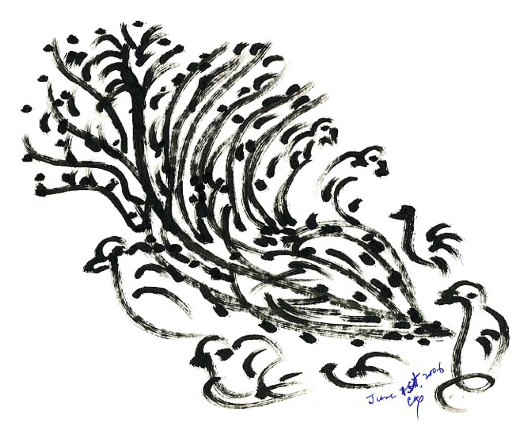 Bird-Drawing-by-Sri-Chinmoy-1-6-2006-10