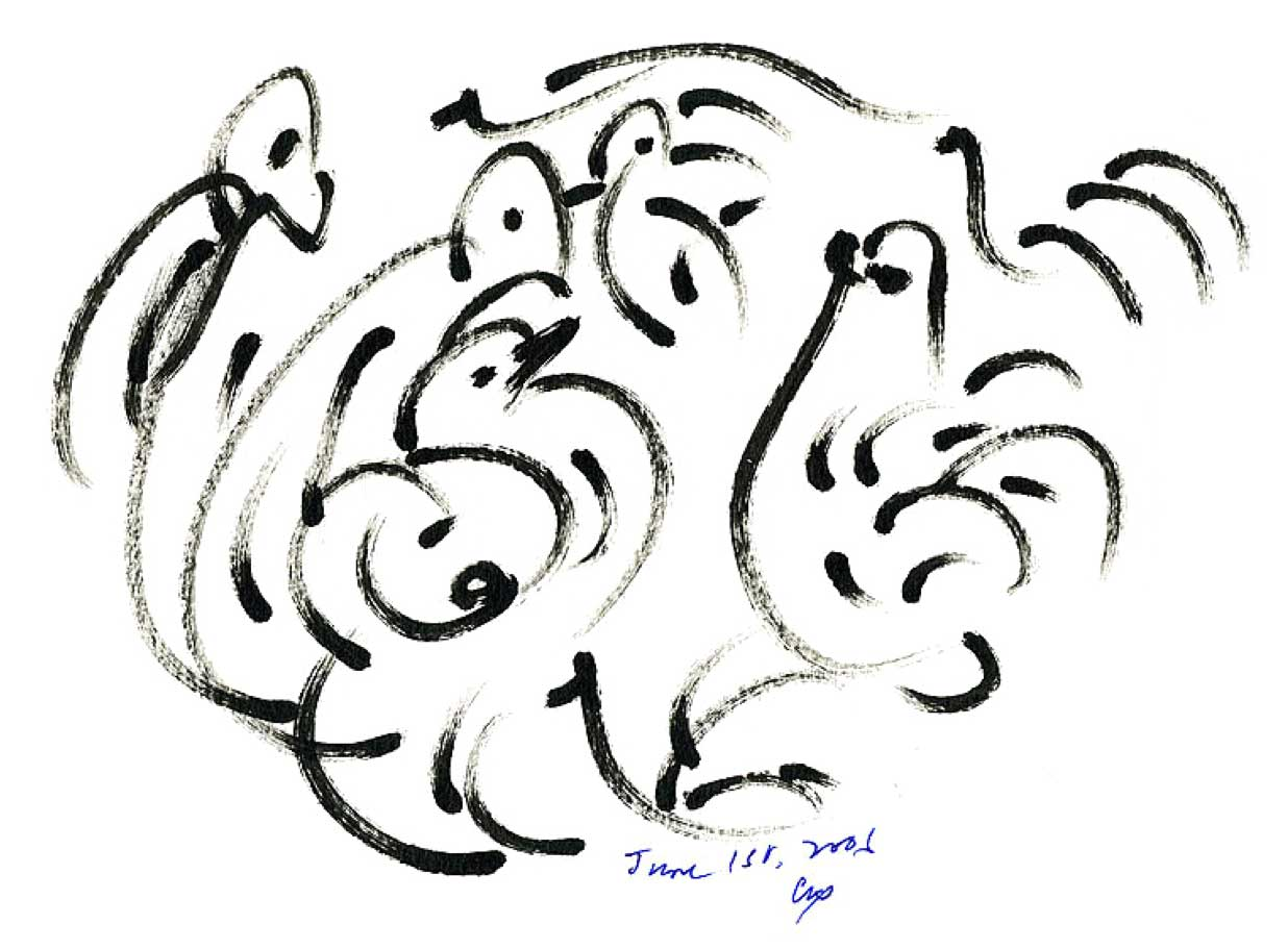 Bird-Drawing-by-Sri-Chinmoy-1-6-2006-7