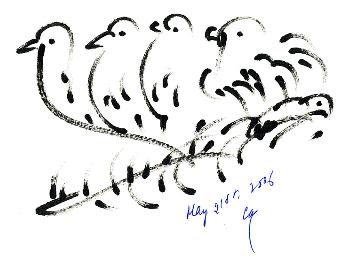 Bird-Drawing-by-Sri-Chinmoy-21-5-2006-5
