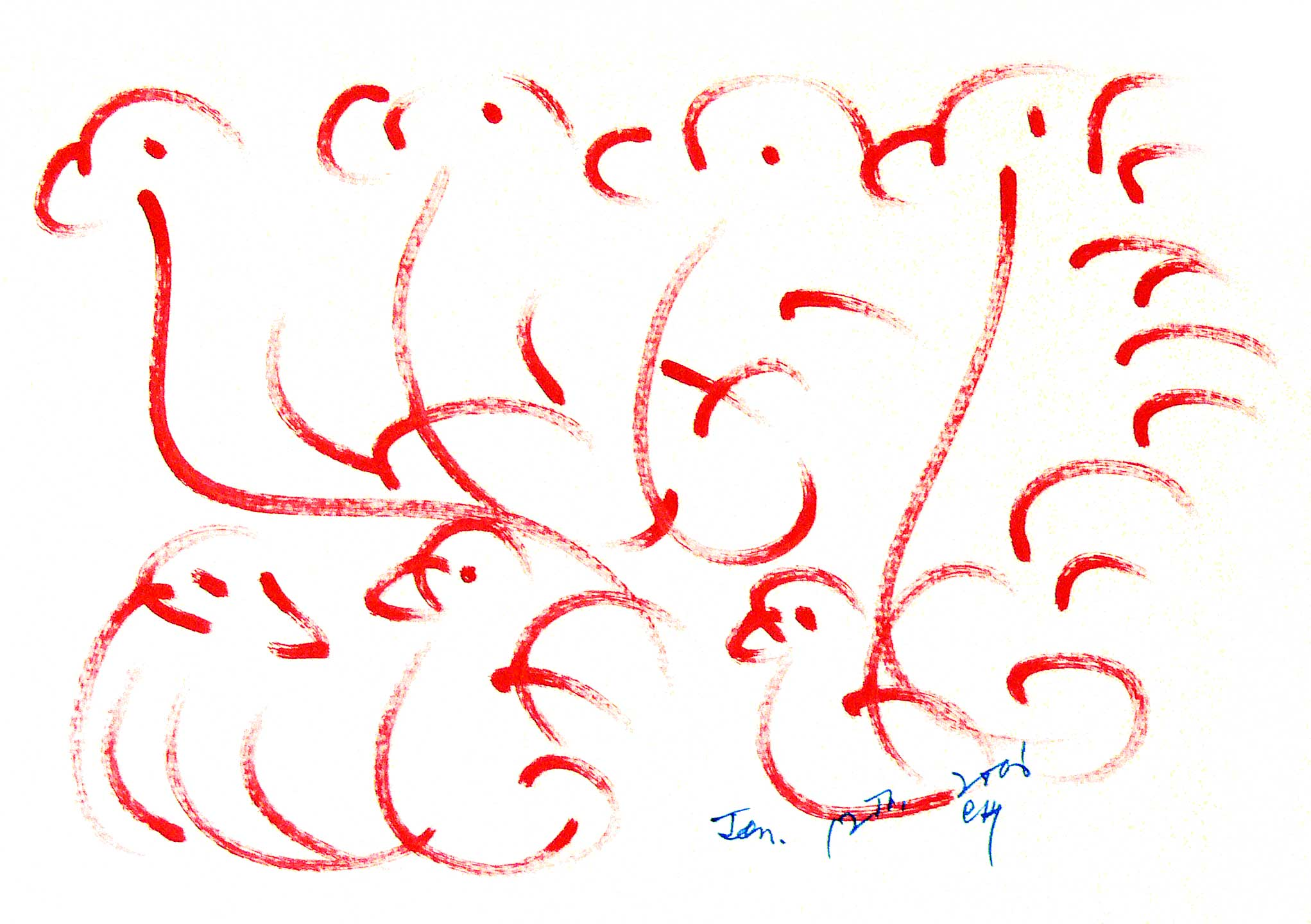 Bird-Drawing-by-Sri-Chinmoy-12-1-2006-4a
