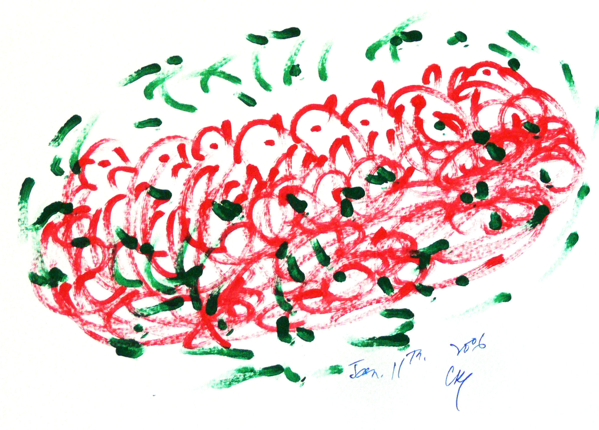 Soul-Bird-Drawing-by-Sri-Chinmoy-11-1-2006-5