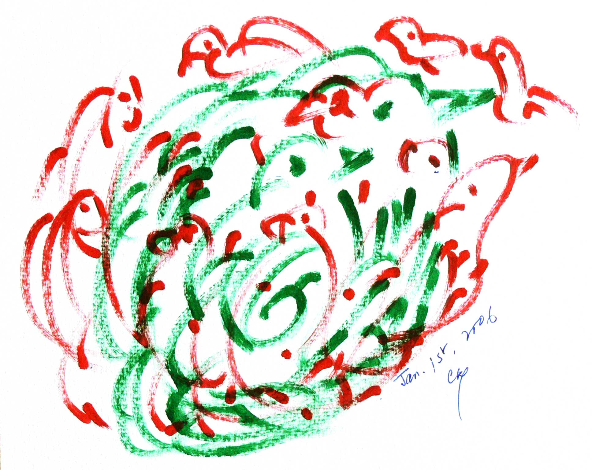 Bird-Drawing-by-Sri-Chinmoy-1-1-2006-6