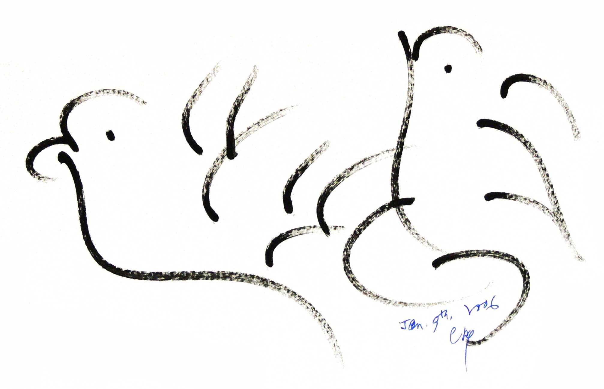 Bird-Drawing-by-Sri-Chinmoy-9-1-2006-4