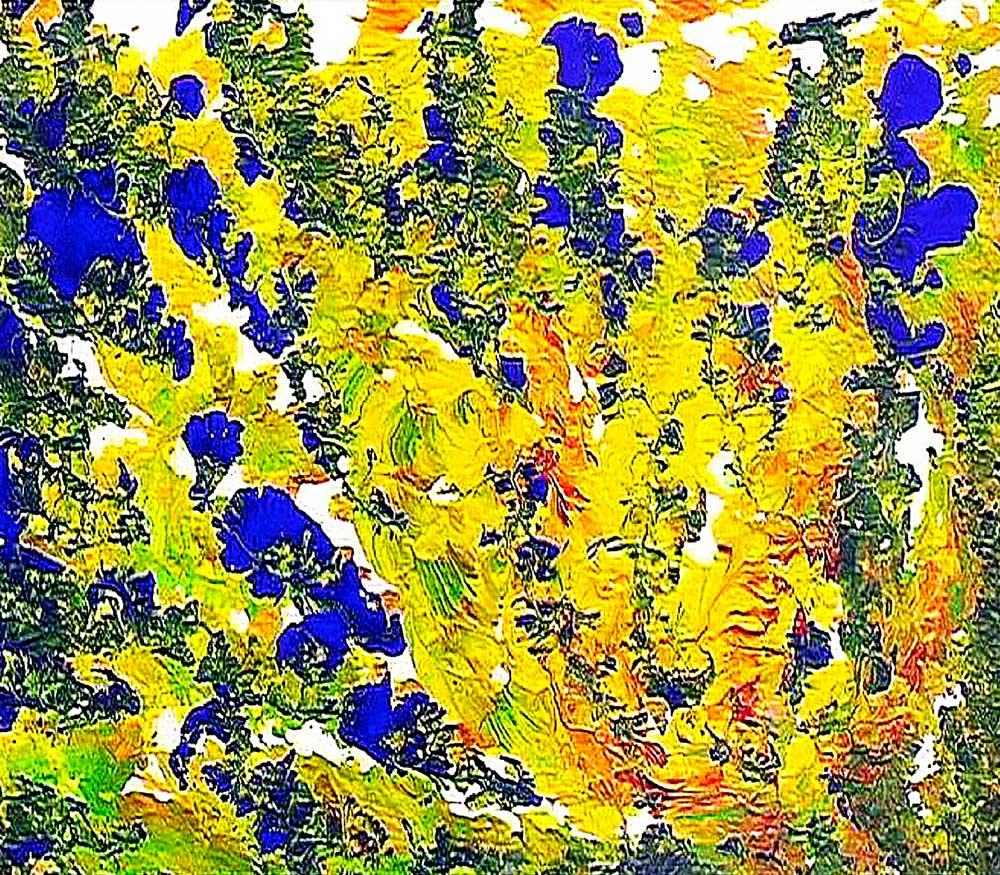 Blue-yellow-Jharna_Kala-fragment