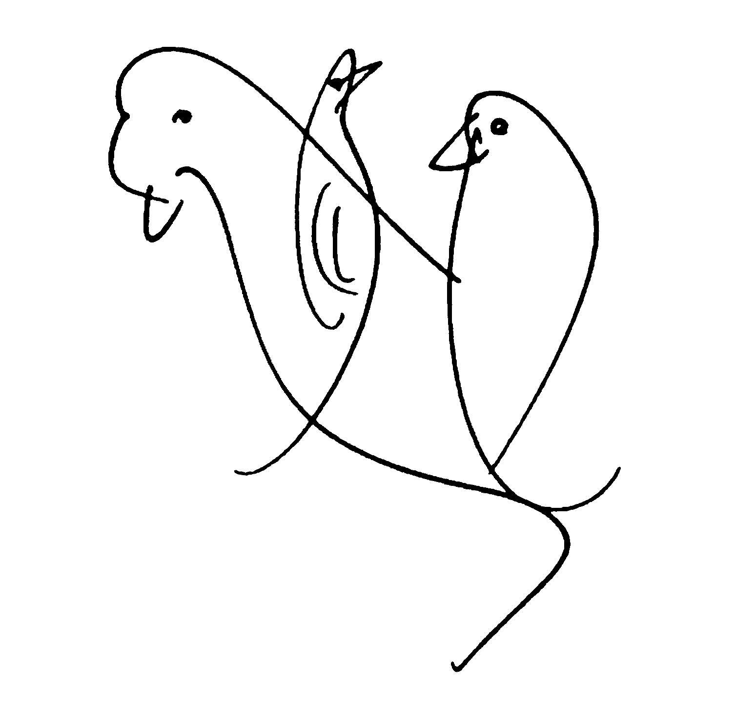 bird-drawing-by-sri-chinmoy-undated-396