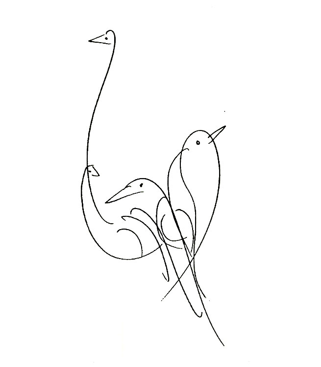 By Artarchive On October 28 2017 In Soul Bird Drawings